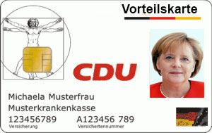 CDU Vorteilskarte